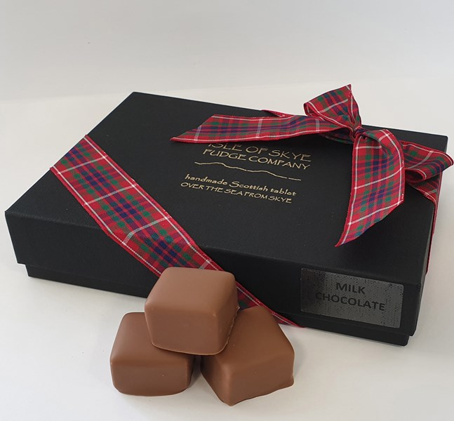 Gift box - Milk Chocolate peppermint squares