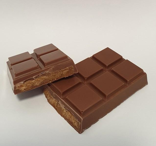 Chocolate-tablet bar