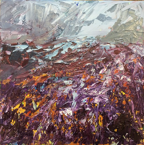 Beyond the Heather 43x43cm, reserved for exhibition