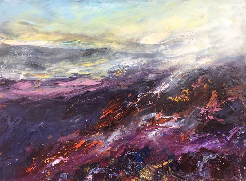 Heather Hills 1, 95x75cm, reserved
