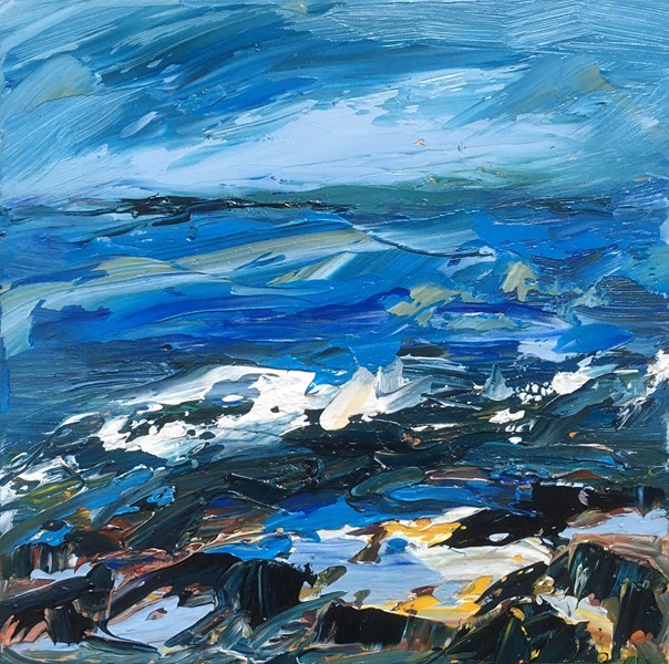 Rock Pools 43x43cm, reserved for exhibition