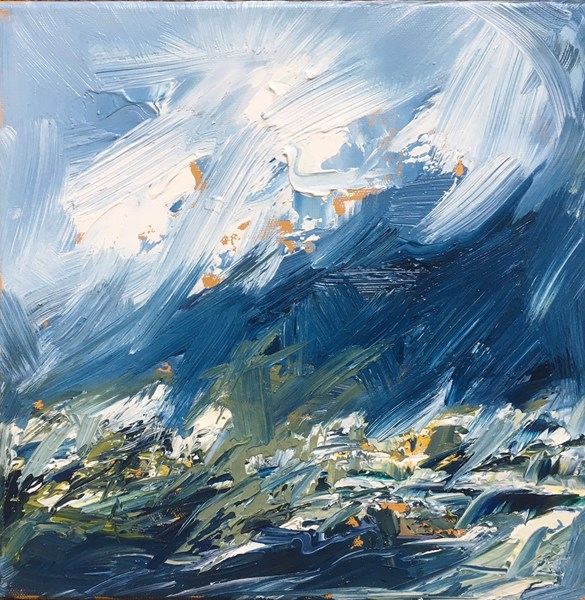 The Wind Picks Up 43x43cm, reserved for exhibition