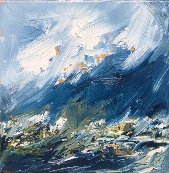 The Wind Picks Up 43x43cm, Holroyd Gallery