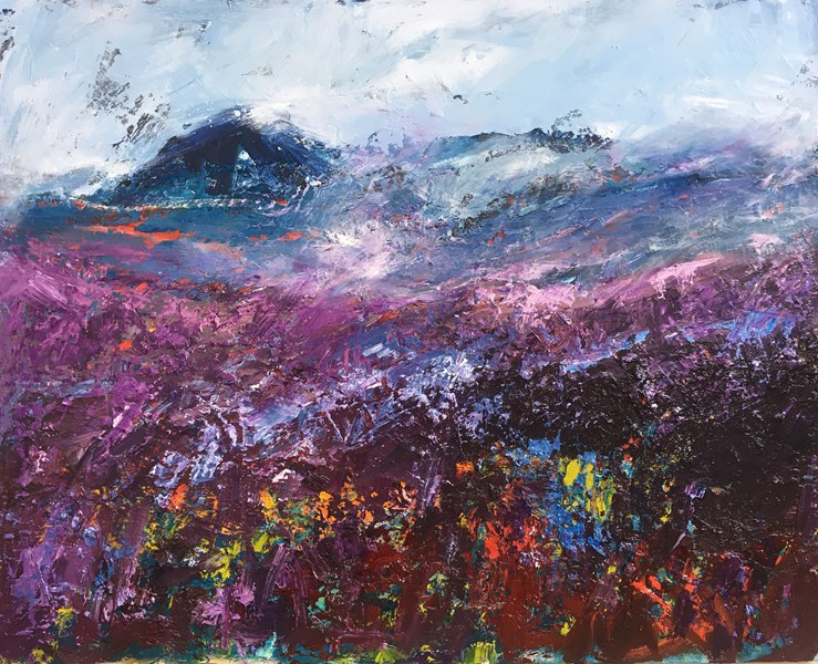 Heather Hills 2, 80x60cm, reserved