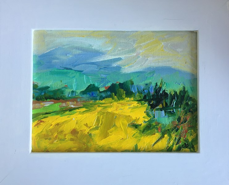 A Spring Sky SOLD