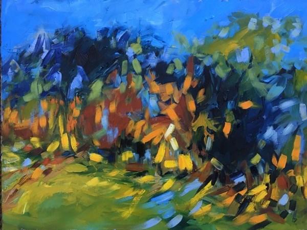 Autumn, Glenaffric 75x60cm