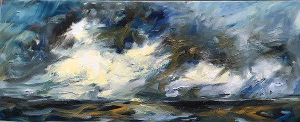 A Dancing Sky 107x46cm reserved for upcoming exhibition