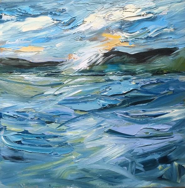 Flash of Dusk 43x43cm, Aberfeldy Gallery