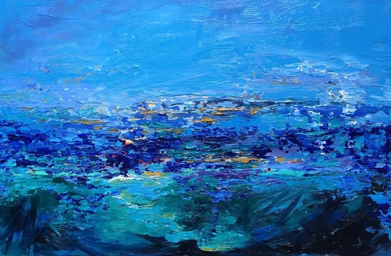 Hebridean Dream 76x50cm unframed deep canvas