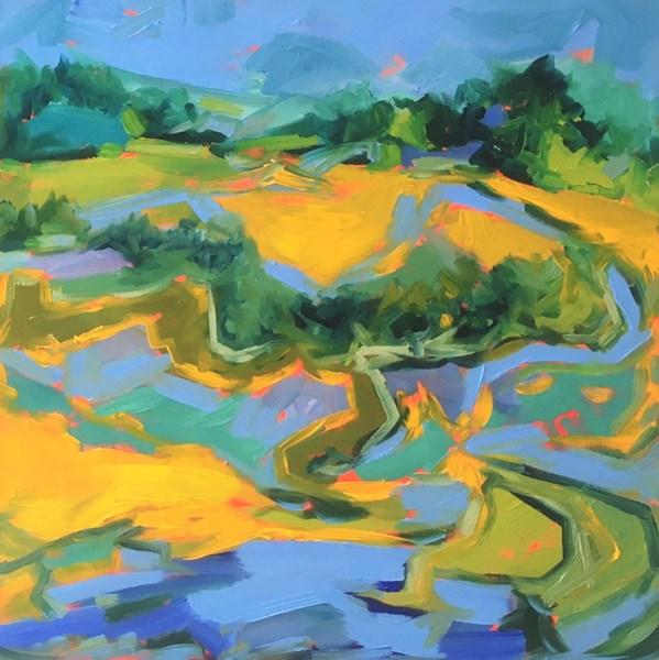 Shore Pastures, Talisker 2 65x65cm