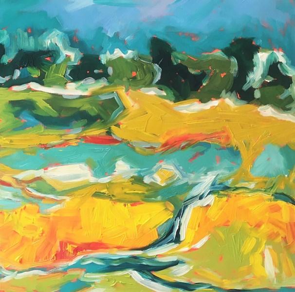 Shore Pastures, Talisker 65x65cm