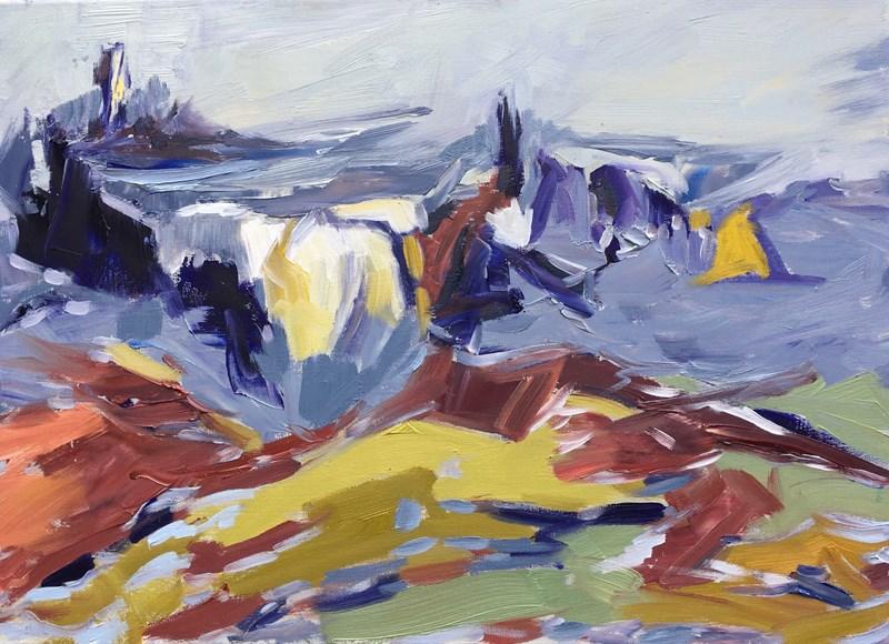 Spirit of Storr, Isle of Skye 83x63cm