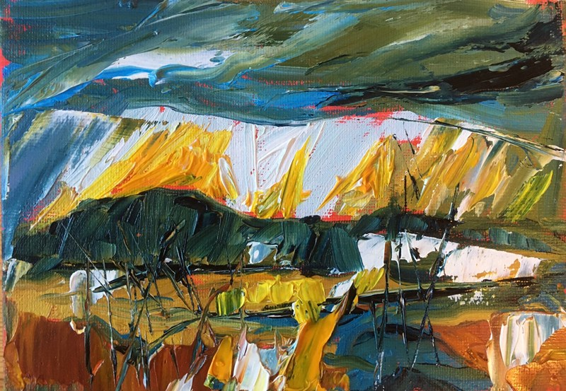 Above Beauly, January 28x22 cm