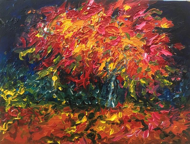Autumn Night 46x36 cm, available