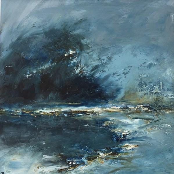 Sudden Cloud 65 x 65cm, Aberfeldy Gallery