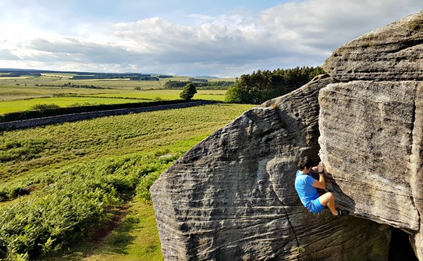 Gift voucher for bouldering courses