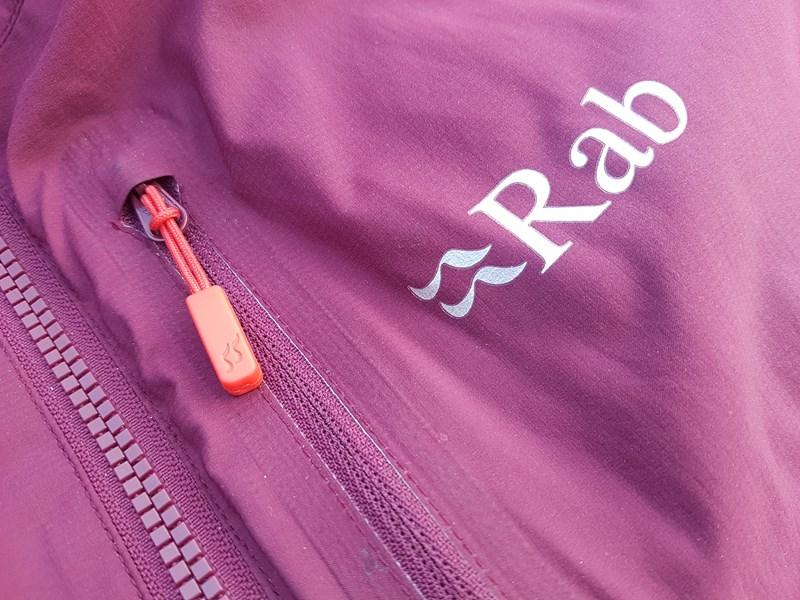 Rab Alpha Direct Jacket - chest pocket