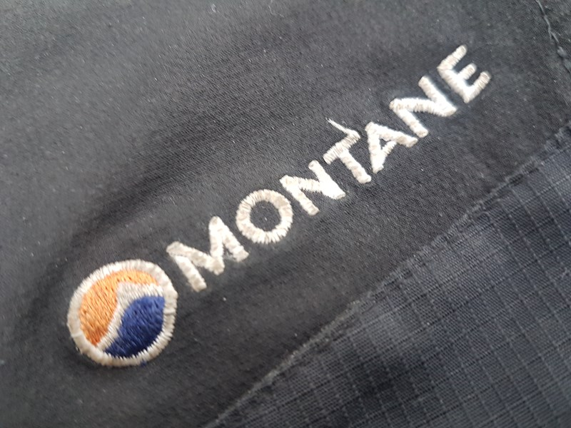 Montane Alpine Stretch Pants - fabric detail