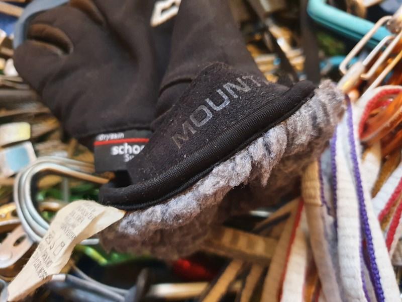 Mountain Equipment Randonee Glove - pile lining and cuff