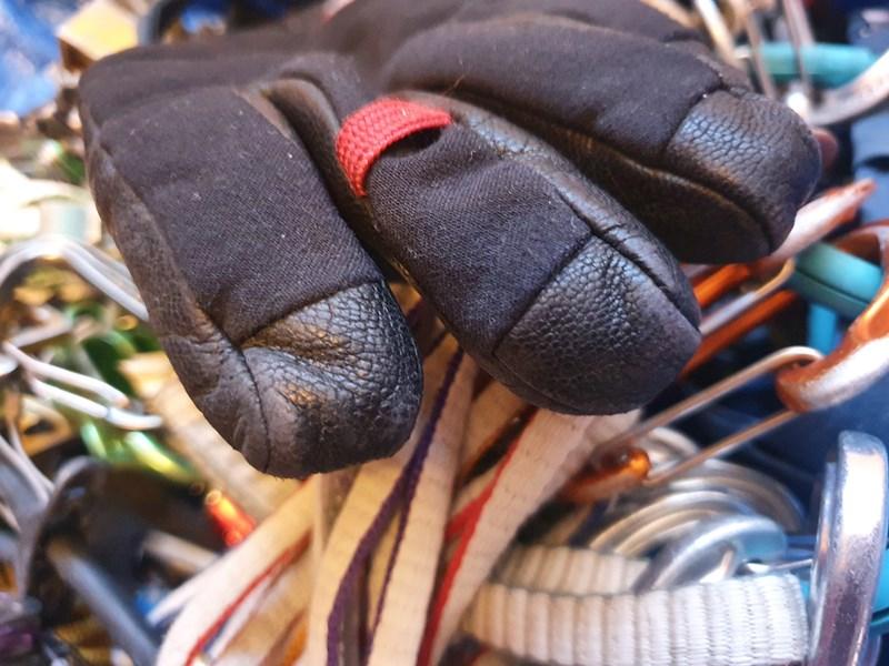 Mountain Equipment Randonee Glove - fingertip detail