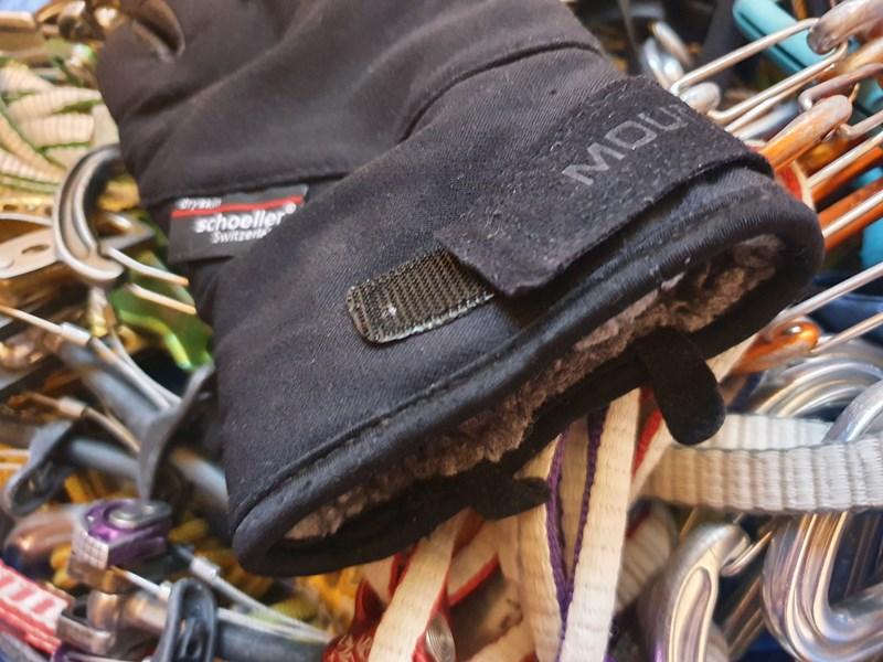 Mountain Equipment Randonee Glove - cuff detail