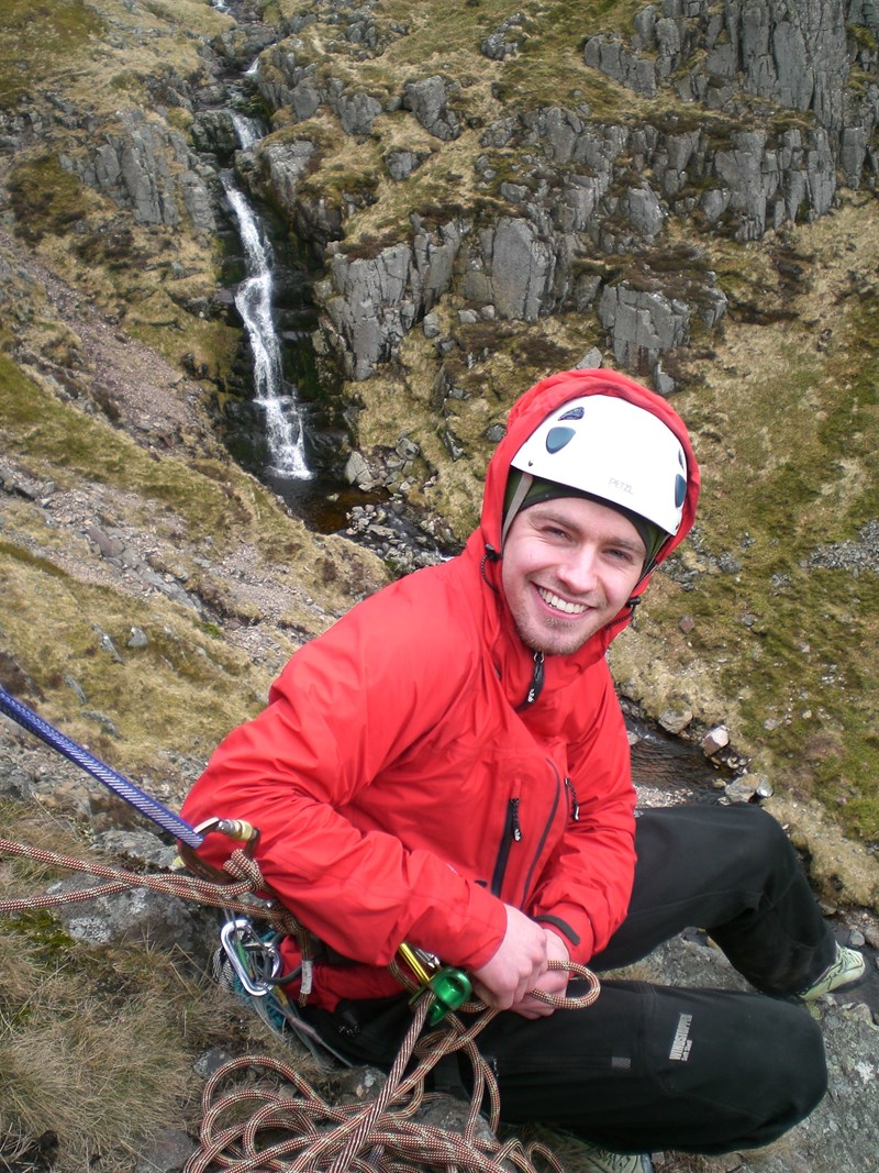 Using the Rab Momentum Jacket whilst climbing in the Cheviots