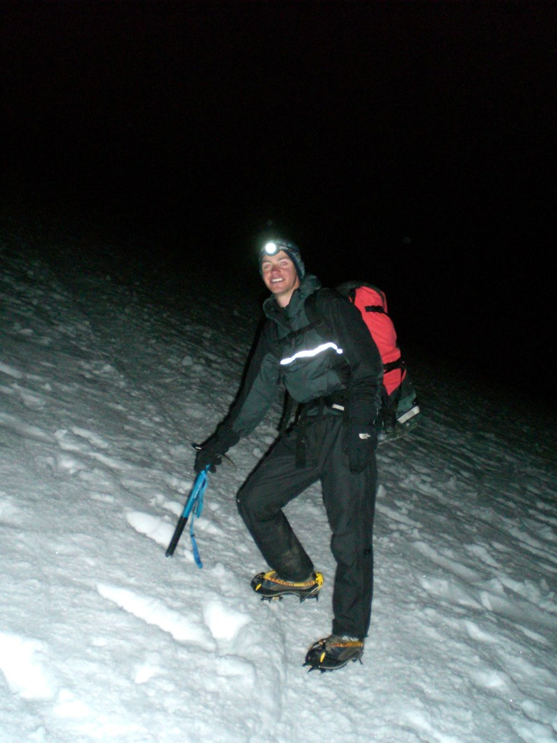 Using the Paramo Velez Adventure Smock on Mont Blanc