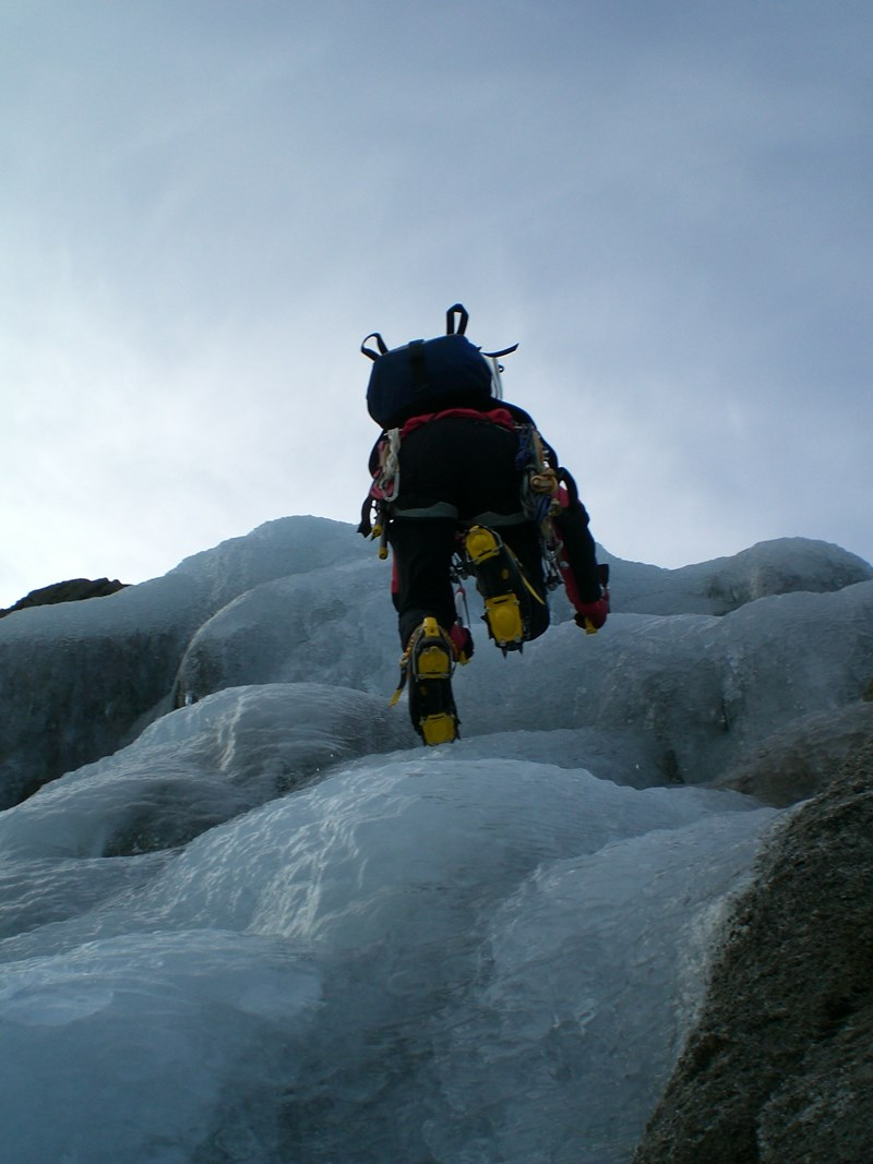 Using the Grivel Air Tech Crampons (New-Matic) in the Lake District