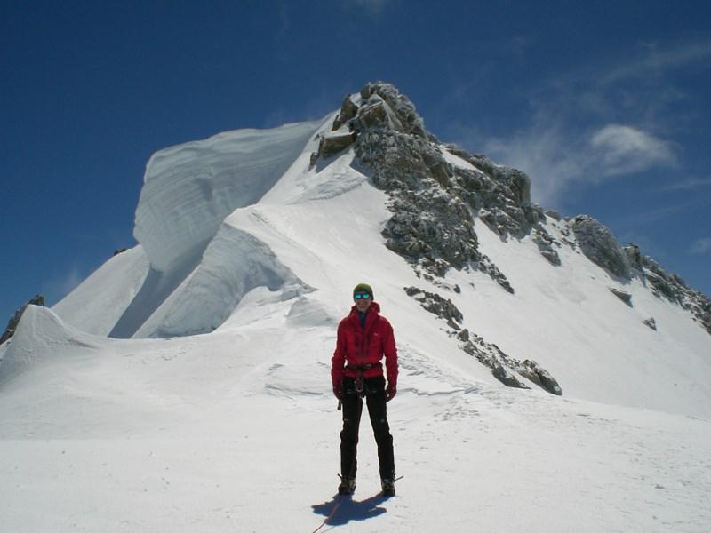Using the Rab Momentum Jacket on Mont Blanc du Tacul