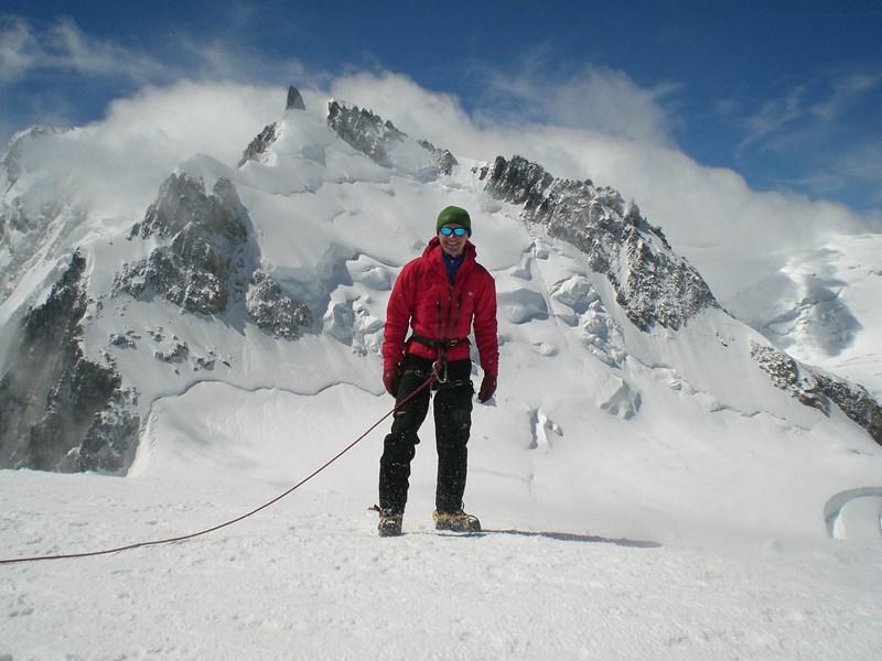 Using the Rab Momentum Jacket on Mont Blanc