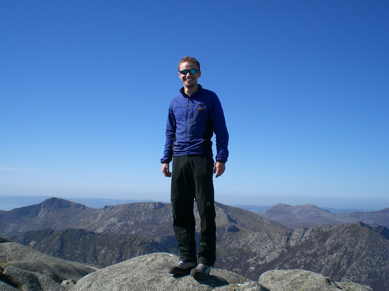 Rab Vapour-rise Stretch Top Review - using the jacket on the Isle of Arran