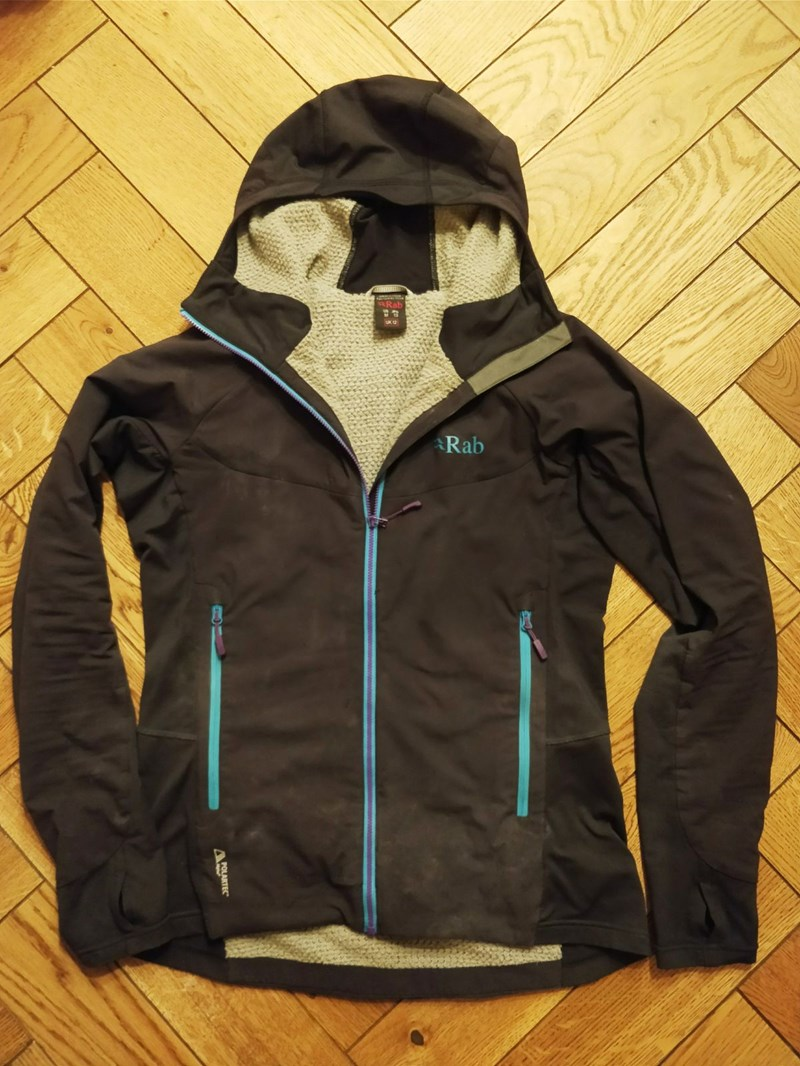 Rab Women's Alpha Flux Jacket - overview