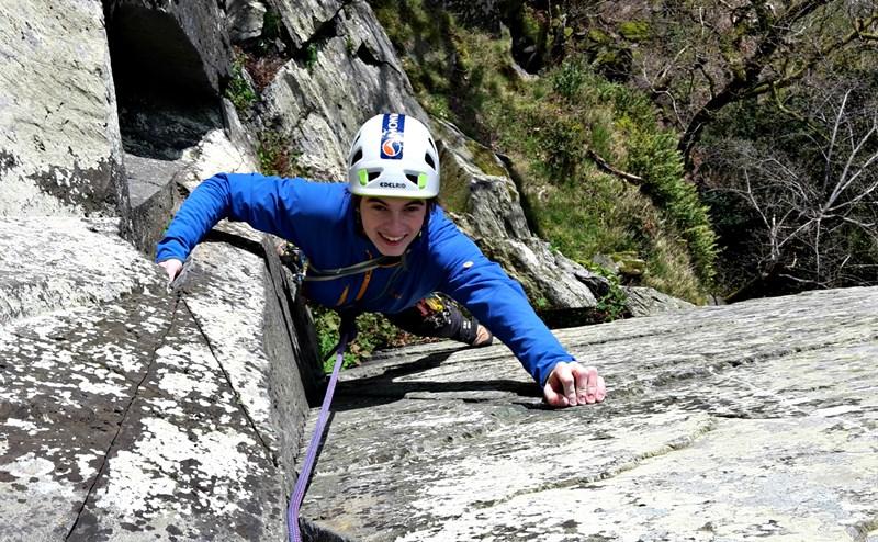 Bespoke rock climbing course