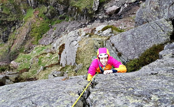 Multi-pitch climbing (1 day course) in the Lake District