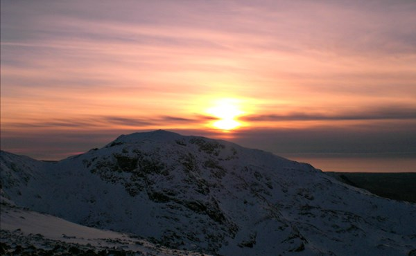 Guided winter Scafell Pike summit (1 day)