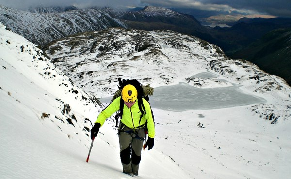 Winter walking essential skills in the Lake District (3 day course)