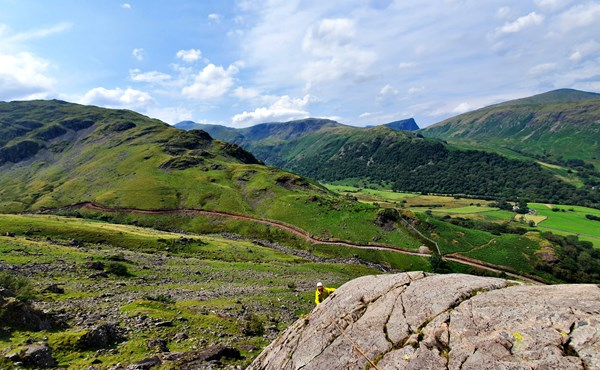 Guided classic Lake District scrambles (1 day course)