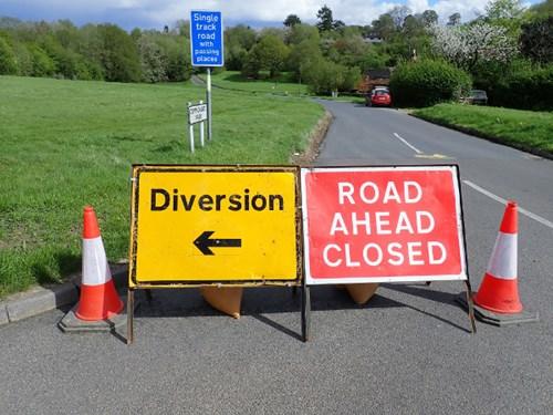 Road Closure - Wharf Lane, Sutton Cheney