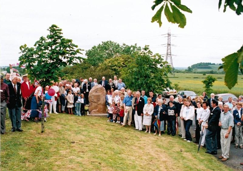 Jubilee Stone unveiling