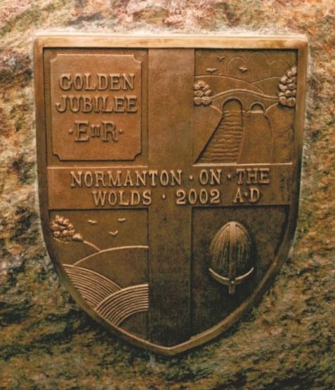 Jubilee Stone plaque