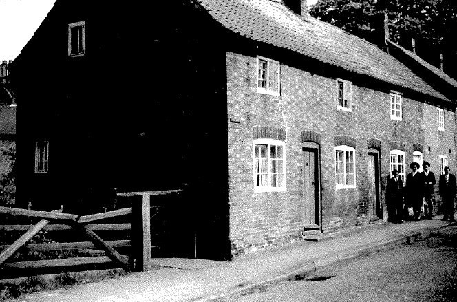 Old photo of The Row