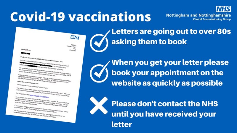 COVID-19 vaccinations poster